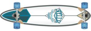 Blue-Aqua-longboard